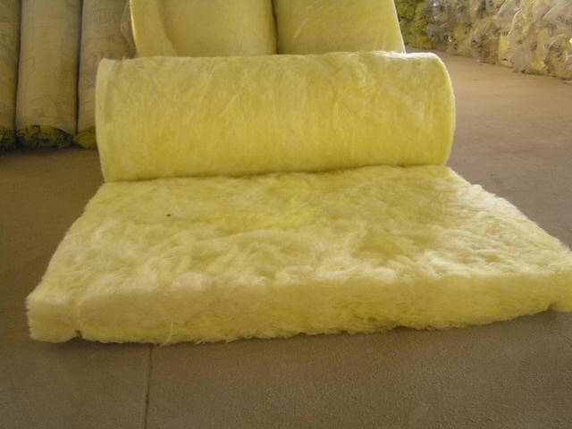 Glass wool is a mass of loose glass fibers