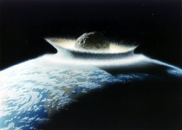 Meteorites Colliding With Earth